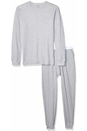 Amazon Thermal Long Underwear Set Heather