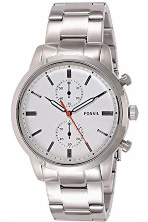 Fossil Men's Chronograph Quartz Watch with Stainless Steel Strap FS5346