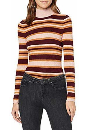 Only Women's ONLGIANNA L/S Highneck Rib Pullover KNT Jumper