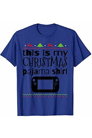 My Family Christmas PJ Collection This is my Christmas Pajama Xmas Nerd Funny Gamer T-Shirt