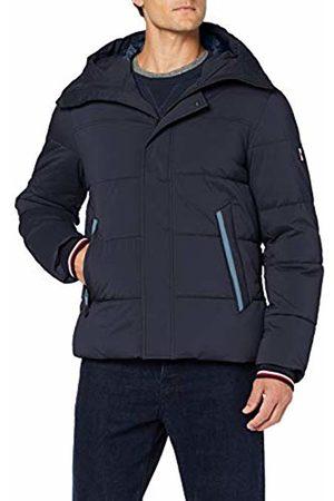 Tommy Hilfiger Men's Stretch Nylon Hooded Bomber Jacket