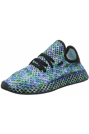 adidas Men's Deerupt Runner Gymnastics Shoes, Core /Hi/Res Aqua
