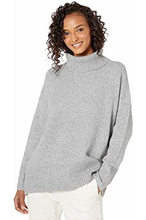 Daily Ritual Cozy Boucle Turtleneck Sweater Heather