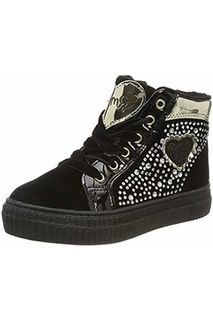Primigi Baby Girls' Paa 44544 Low-Top Sneakers, Nero 4454411