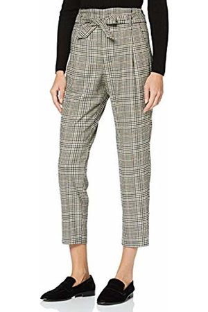 s.Oliver Women's 11.910.76.3054 Trousers, ( / Check 99N1)