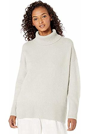 Daily Ritual Cozy Boucle Turtleneck Sweater Cloud Heather