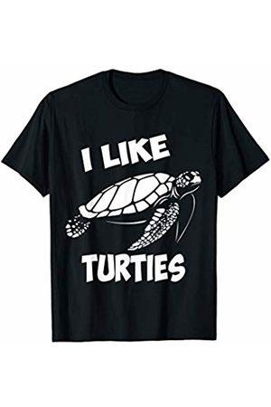 I like pet turtles cute Turtles cute T-Shirt