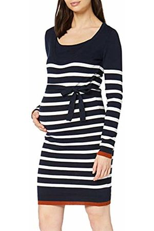 Mama Licious Women's MLKENNA Nell L/S Knit ABK Dress NF