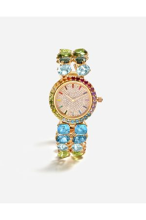 Dolce & Gabbana Women Watches - Watches - WATCH WITH MULTI-COLORED GEMS