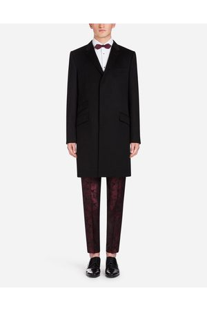 Dolce & Gabbana Blazers and Coats - WOOL AND CASHMERE COAT
