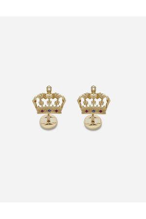 Dolce & Gabbana Jewelry - CROWN CUFFLINKS