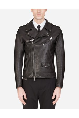 Dolce & Gabbana Jackets and Bombers - LEATHER BIKER JACKET