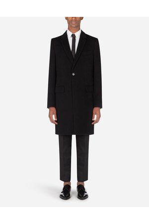 Dolce & Gabbana Blazers and Coats - CASHMERE/WOOL COAT