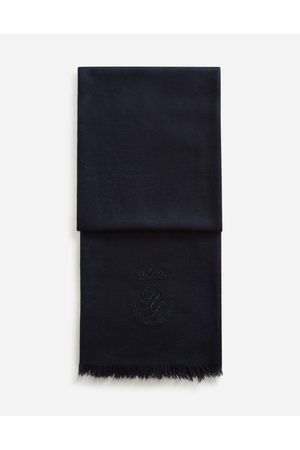 Dolce & Gabbana Men Scarves - Scarves and Silks - SCARF IN CASHMERE AND SILK