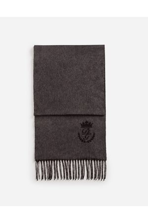 Dolce & Gabbana Scarves and Silks - SCARF IN CASHMERE AND SILK