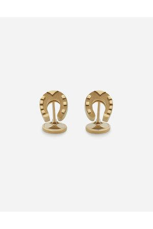 Dolce & Gabbana Jewelry - GOOD LUCK CUFFLINKS IN YELLOW