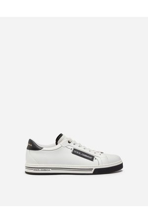 Dolce & Gabbana Men Trainers - Sneakers and Slip-On - ROMA SNEAKERS IN NAPPA CALFSKIN