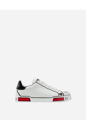 Dolce & Gabbana Sneakers and Slip-On - LIMITED EDITION PORTOFINO SNEAKERS