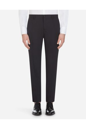 Dolce & Gabbana Trousers - TROUSERS IN STRETCH WOOL