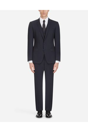 Dolce & Gabbana Suits - STRETCH WOOL SUIT