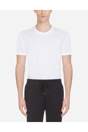 Dolce & Gabbana T-Shirts and Polo - T-SHIRT IN COTTON