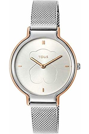 TOUS Womens Analogue Quartz Watch with Stainless Steel Strap 8431242947372