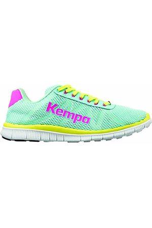 Kempa Unisex Adults' K-Float Handball Shoes Turquoise/Jaune Spring