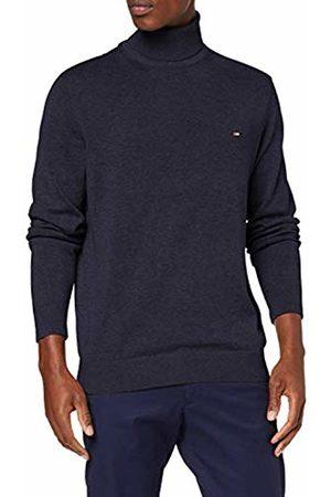 Tommy Hilfiger Men's Organic Cotton Silk Roll Neck Sweatshirt