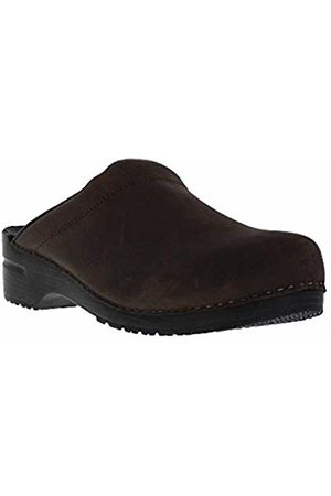 Sanita Karl Textured Oil Open, Men's Clogs, (Antique 78)