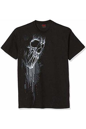 Spiral Women's Bat Curse-Front Print T-Shirt