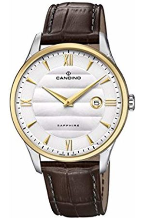 Candino Mens Analogue Classic Quartz Watch with Leather Strap C4640/1