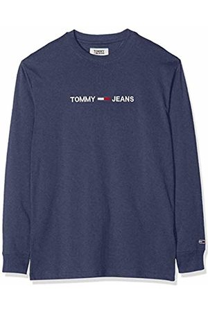 Tommy Hilfiger Men's TJM Longsleeve Small Logo Tee Sports Shirt