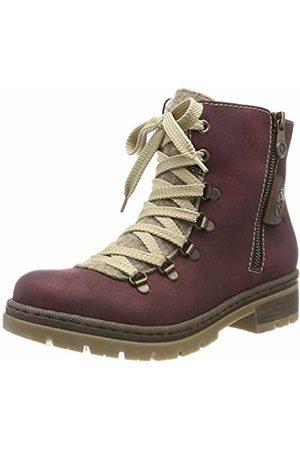 Rieker Women's Herbst/Winter Ankle Boots, (Bordeaux/Wood/Kastanie 35)
