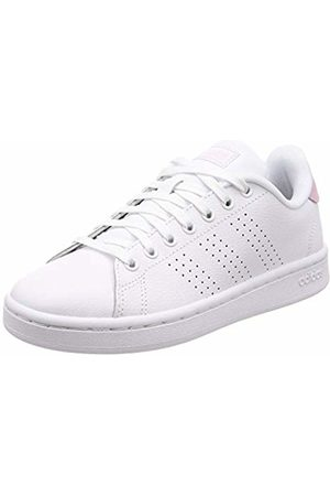 adidas Women's Advantage Fitness Shoes, FTW Bla/Grasua 000