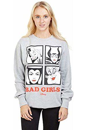 Disney Women's Bad Girls Sweatshirt, (Sport SPO)