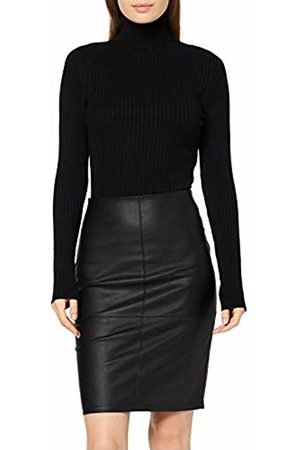 ONLY NOS Women's onlcelina Faux Leather Midi Skirt OTW