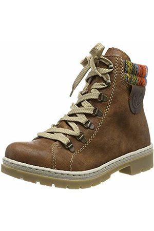 Rieker Women's Herbst/Winter Ankle Boots, (nuss-Antik/ -Multi/Kastanie 23)