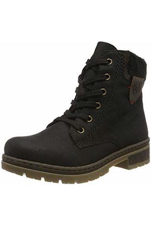 Rieker Women's Herbst/Winter Ankle Boots, (Schwarz/Kastanie/ 00)