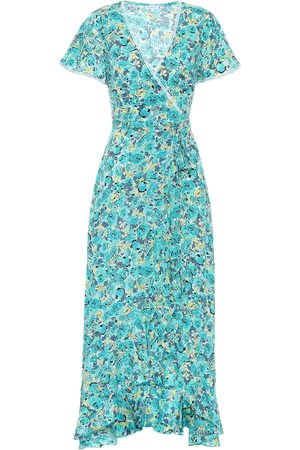 POUPETTE ST BARTH Joe floral wrap dress