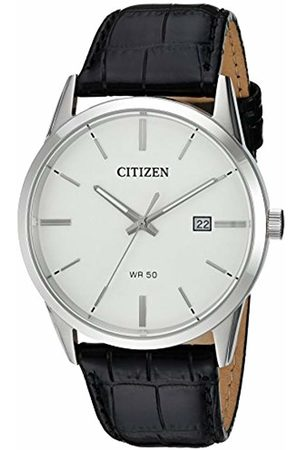 Citizen Mens Analogue Quartz Watch with Leather Strap BI5000-01A