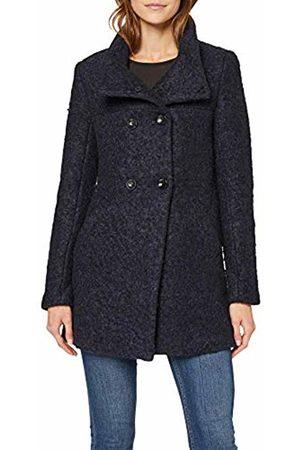 Only Women's Onlsophia Wool Boucle Coat Cc OTW, Peacoat