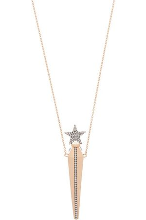 Diane Kordas Diamond & 18kt Rose- Amulet Necklace - Womens - Rose