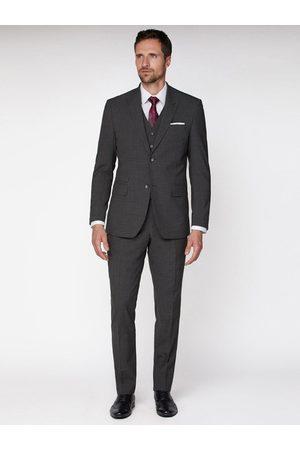 Jeff Banks Texture Travel Suit Jacket In Regular Fit