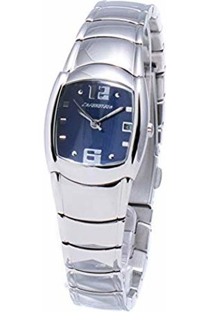 ChronoTech Womens Analogue Quartz Watch with Stainless Steel Strap CT7341L-03M