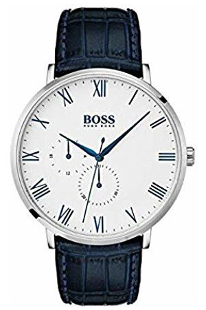 HUGO BOSS Mens Analogue Quartz Watch with Leather Strap 7613272292528