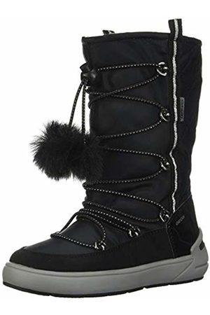 Geox Girls' J Sleigh B ABX B Snow Boots