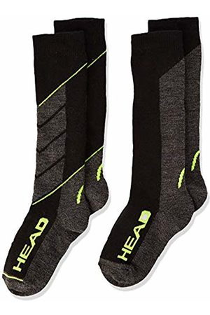 Head Boy's Ski V-Shape Kneehigh 2p Sportswear, (Neon 817)