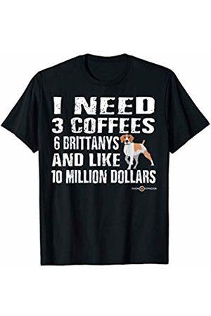 ToonTyphoon Funny Brittany Dog I Need T-Shirt