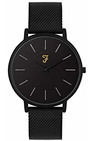 Farah Unisex Adult Analogue Classic Quartz Watch with Stainless Steel Strap FAR4011