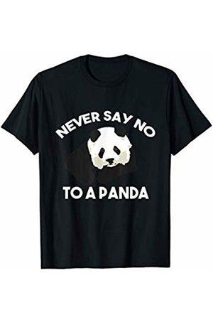 My Shirt Hub Cute Never Say No To A Panda Lover Funny Gift T-Shirt